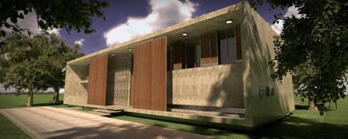 CASA HK: Casas de estilo moderno por ÇaMet