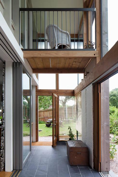 Projekty,  Taras zaprojektowane przez CRSH Architecture and Energy