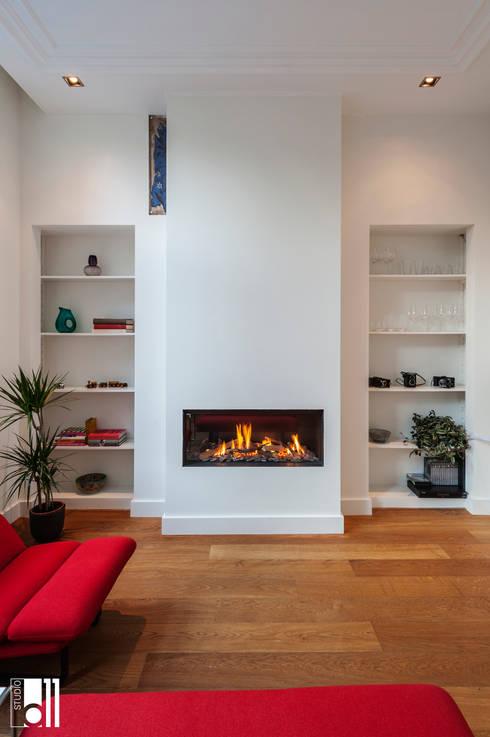 Living room by Studio D11