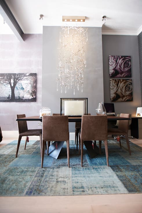 Lighting: eclectic Dining room by CasaNora