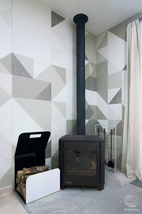 Projekty,  Salon zaprojektowane przez ZROBYM architects