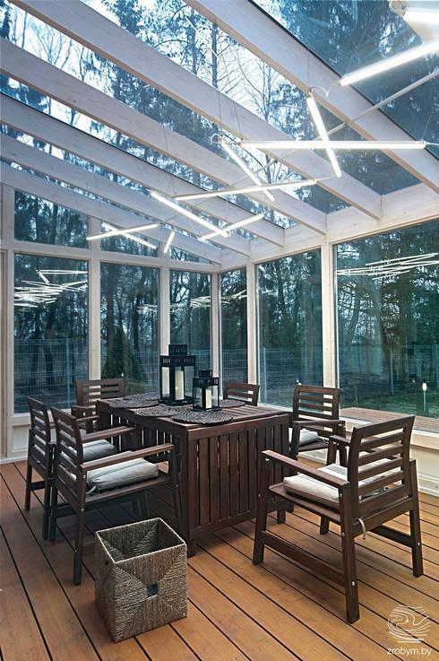 Projekty,  Taras zaprojektowane przez ZROBYM architects