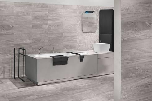 Gres porcellanato effetto pietra di italiangres homify - Gres porcellanato bagno moderno ...