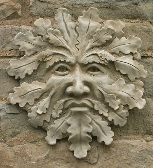 Green Man Garden Ornament U0027Blackwellu0027: Garden By Marble Inspiration