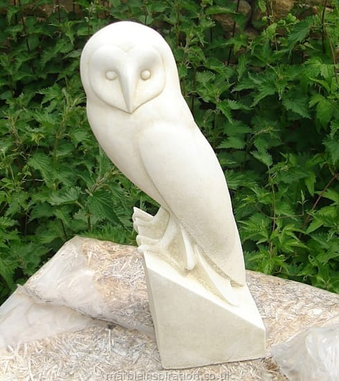 Stone Owl Garden Ornaments Animal bird garden ornaments by marble inspiration homify animal bird garden ornaments workwithnaturefo