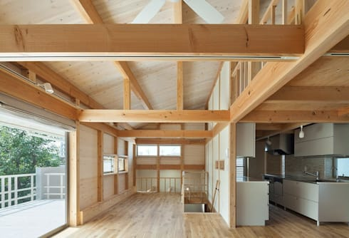 2階多目的室: アトリエ優 一級建築士事務所が手掛けた和室です。