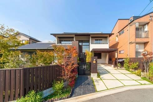 O邸外観: 株式会社 斎藤政雄建築事務所が手掛けた家です。