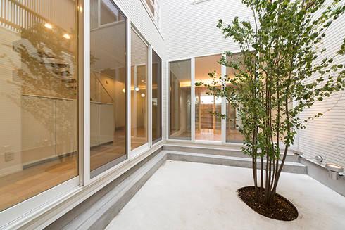 『ソラ庭のある家』: 納得住宅南大阪が手掛けた庭です。