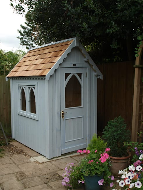The Gothic Shed :  Garden by The Posh Shed Company