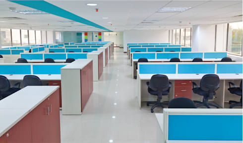 Office Cubicle System:  Office buildings by Comfort Office Zone
