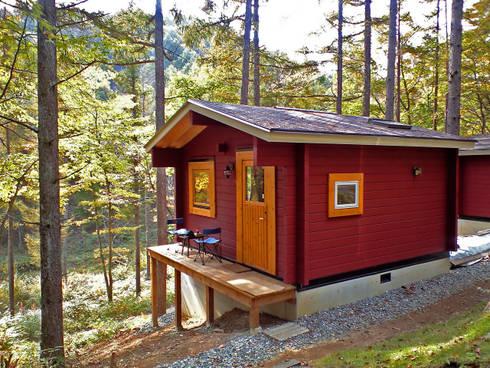 4.5mx4.5mの秘密基地: Cottage Style / コテージスタイルが手掛けた家です。