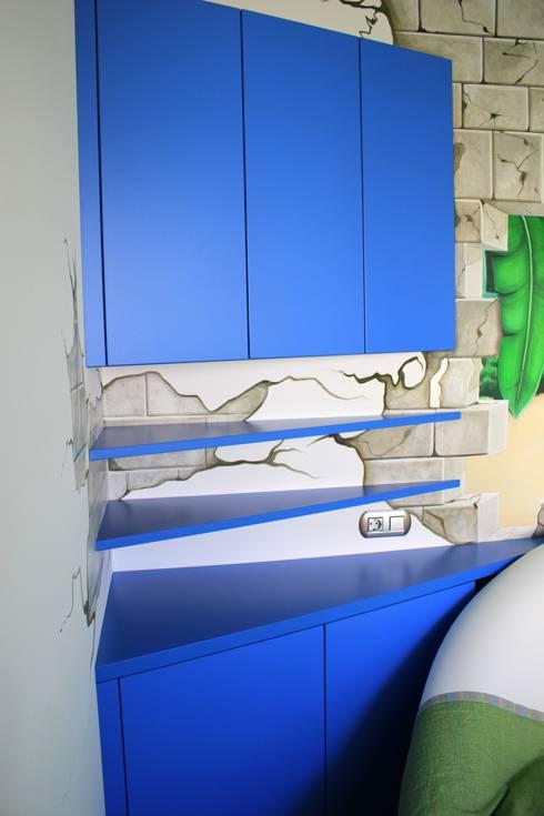 Kinderzimmer Schreibtisch:  Kinderzimmer von wohn & küchenwerkstatt robert greil