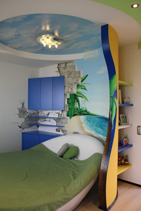 Kinderzimmer:  Kinderzimmer von wohn & küchenwerkstatt robert greil