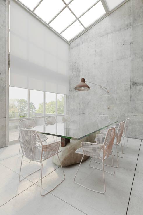 Пентхаус для скульптора: Столовые комнаты в . Автор – Anton Medvedev Interiors