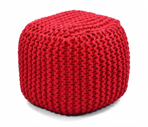 natural fibres ottomans poufs de natural fibres export homify. Black Bedroom Furniture Sets. Home Design Ideas