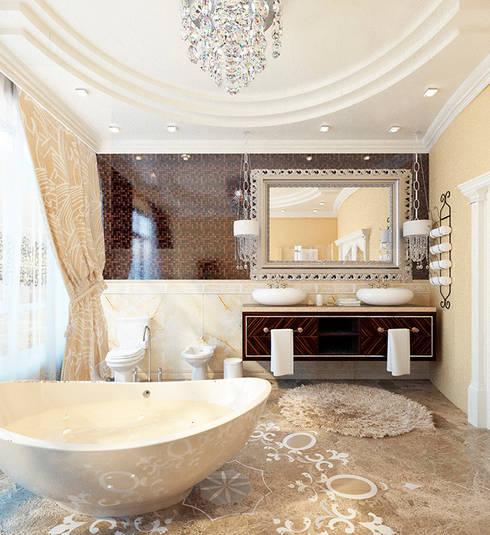 Bathroom by Space - студия дизайна интерьера премиум класса