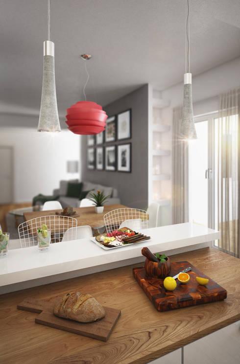 Kitchen by Beniamino Faliti Architetto