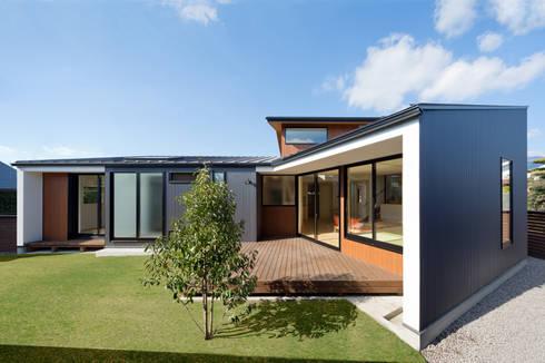 PLEASANT ANGLE HOUSE: 株式会社プラスディー設計室が手掛けた家です。