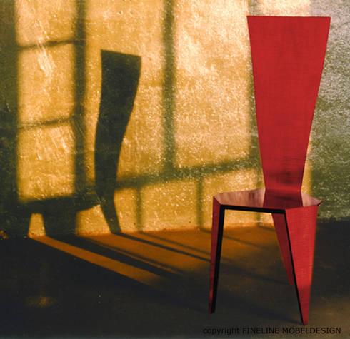 einzelmöbel von fineline mÖbeldesign | homify, Wohnzimmer