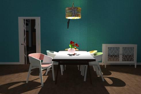 Dining room.: modern Dining room by Kay Studio