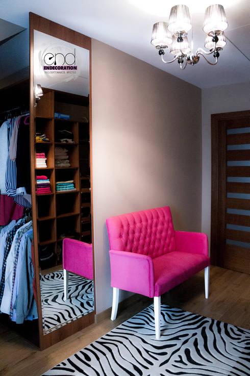 Dom pod Zambrowem : styl , w kategorii Garderoba zaprojektowany przez EnDecoration