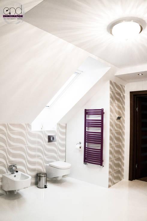 Dom pod Zambrowem : styl , w kategorii Łazienka zaprojektowany przez EnDecoration