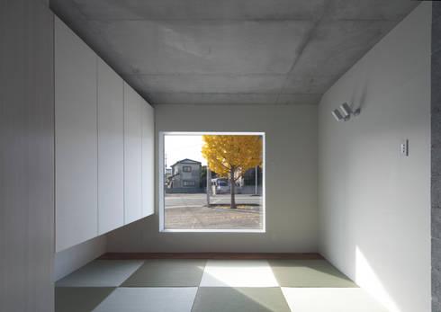 CYY: かわつひろし建築工房が手掛けた書斎です。