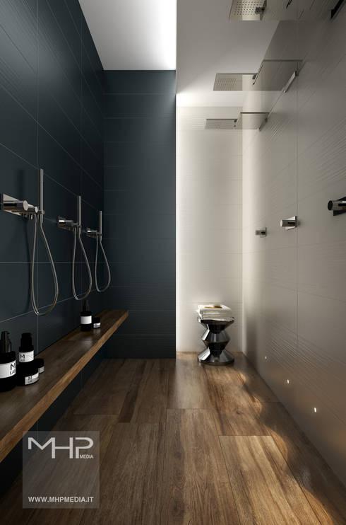 modern Bathroom by MHP media | 3D Rendering