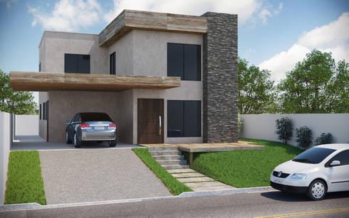 Casa Sustentável Alphaville: Casas modernas por Carla Patrícia Saad Arquitetura