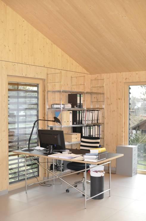 Warmherzig:  Arbeitszimmer von Despang Architekten