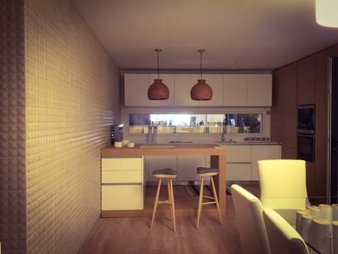 BARRO tiles at Lisbon Design Show: Cozinhas modernas por BARRO
