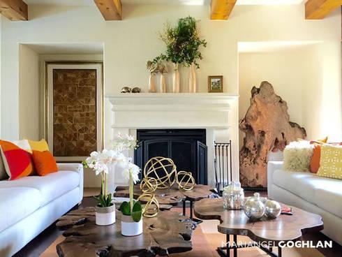 Sala: Salas de estilo colonial por MARIANGEL COGHLAN