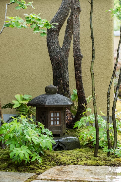 山口県山口市 U邸: 株式会社近江庭園が手掛けた庭です。