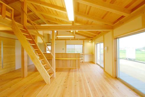 .: 石丸真智子建築設計室が手掛けたリビングです。