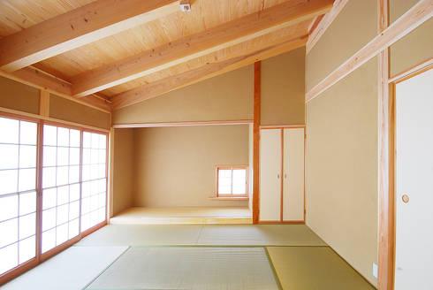 .: 石丸真智子建築設計室が手掛けた和室です。