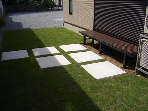 W様邸5: 山野興業 ガーデンスタイルなごみが手掛けたです。