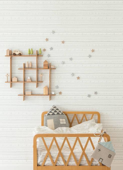 Paredes y pisos de estilo  por Photowall