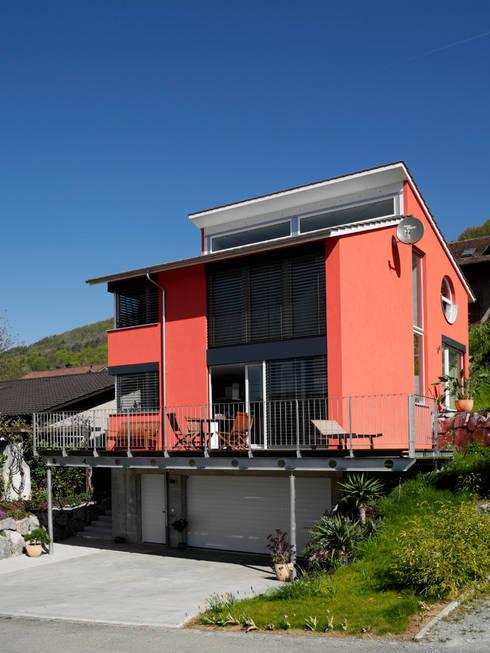 Projekty,  Domy zaprojektowane przez Binder Architektur AG