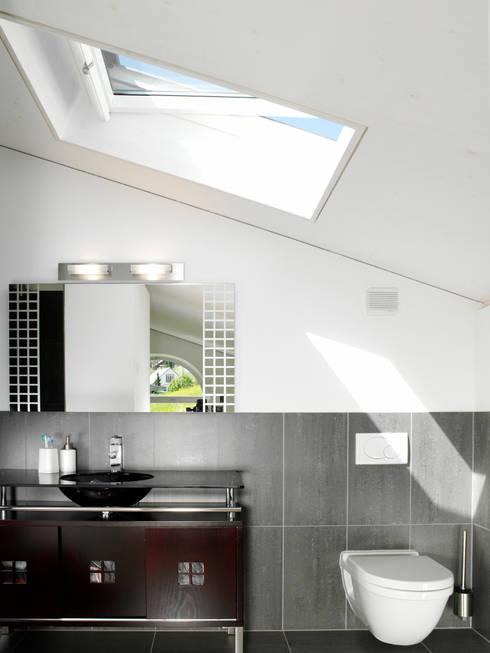EFH Bauert, Dättlikon:  Badezimmer von Binder Architektur AG