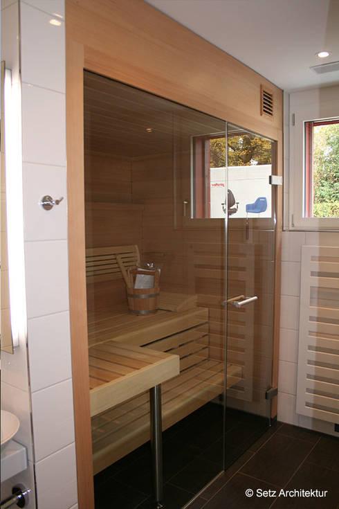 Einfamilienhaus in Muttenz:  Spa von Setz Architektur