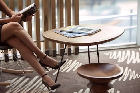 HOTEL IBIS GUADALAJARA: Hoteles de estilo  por TRAZOENTREDOS