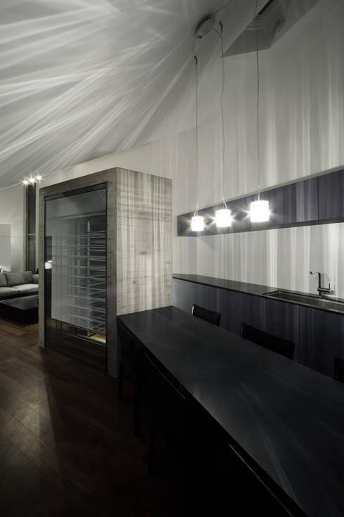 Lik house: 株式会社廣田悟建築設計事務所が手掛けたキッチンです。