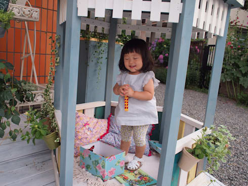 子どものためのコミュニティガーデン: SUNIHA UNIHA(サニハユニハ)が手掛けた商業空間です。