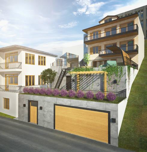 yücel partners – Villa Taşbaşı : modern tarz Evler