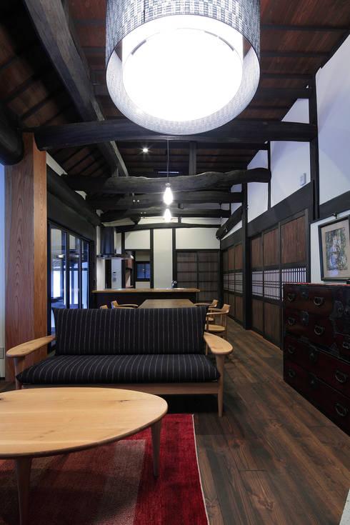 美土里の家 古民家再生工事: TOM建築設計事務所が手掛けたです。