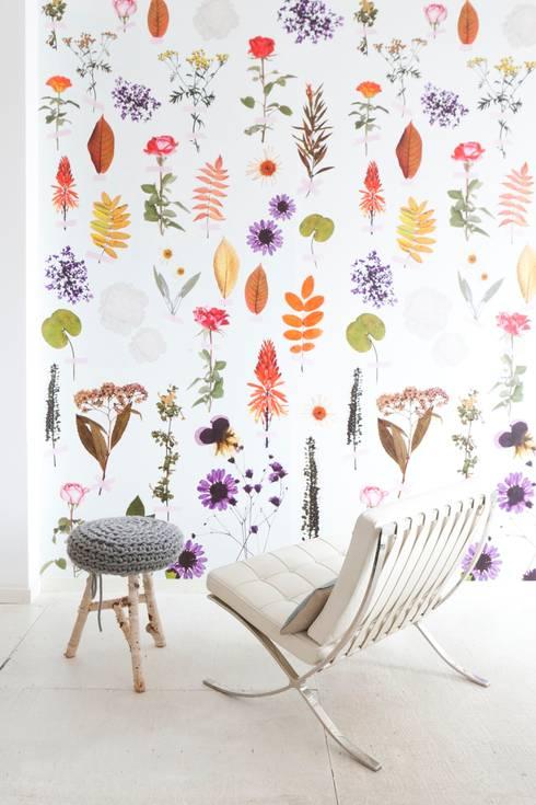 Fabulous, Enjoy en Stoer behang van onszelf :  Muren & vloeren door onszelf