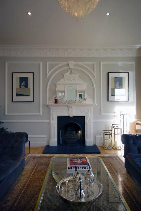 Rosalyn House :  Living room by Lee Evans Partnership