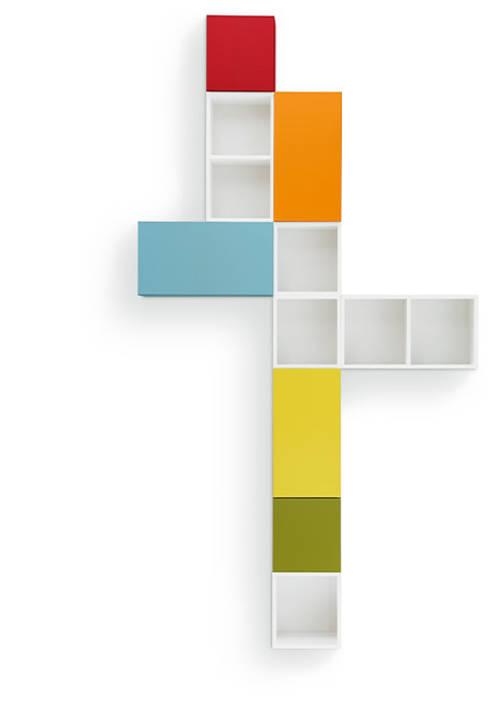 sudbrock nexus. modulare Möbel:  Wohnzimmer von nexus product design