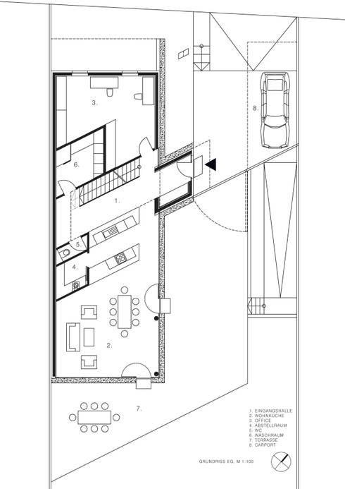 Erdgeschoss:   von MARTIN MOSTBÖCK