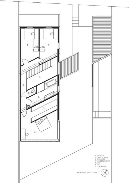 Obergeschoss:   von MARTIN MOSTBÖCK